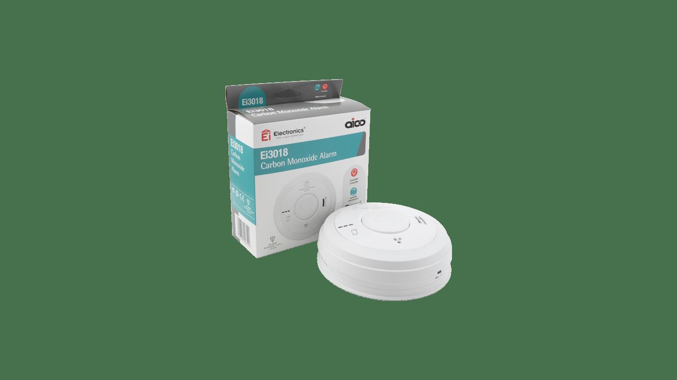 CO Multi Sensor Detector with Talking